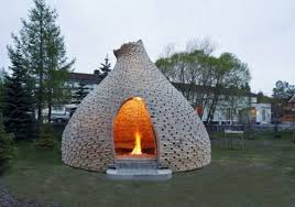 Outside fireplace designs1
