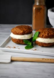 Pumpkin Whoopie Pies Gluten Free by Vegan Pumpkin Whoopie Pies Eat Drink Shrink