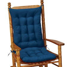 100 The Gripper Twill 2 Pc Rocking Chair Pad Set Amazoncom Collections Etc Quilted Cushion Blue