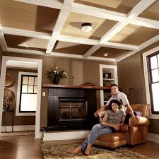 Wonderful Exposed Ceiling Joists Lighting Painting And Wood