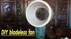 Bladeless Ceiling Fan Dyson by Diy Bladeless Fan Youtube