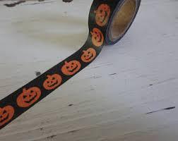 Halloween Washi Tape Australia by Pumpkin Washi Tape Etsy