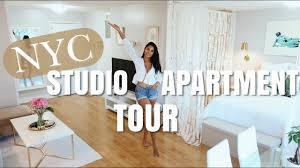 100 Munoz Studio NYC STUDIO APARTMENT TOUR Nathalie Muoz