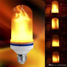 led light effect bulb e27 e26 b22 led flickering l
