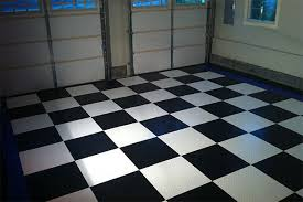 Racedeck Flooring Vs Epoxy by Racedeck Garage Flooring Free Shipping From Autoanything