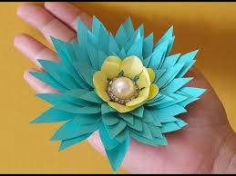 DIY Paper Flowers Idea How To Make Easy Step By Video