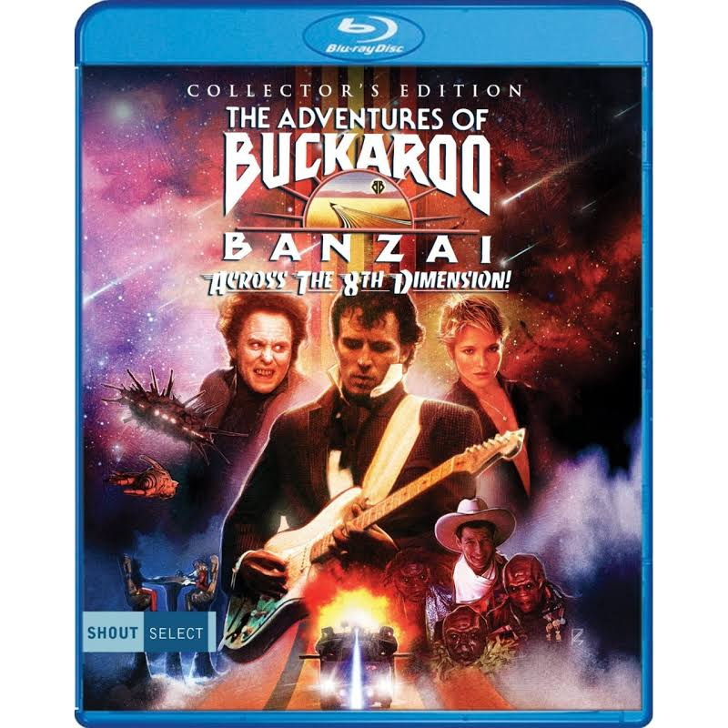 The Adventures of Buckaroo Banzai Across the 8th Dim - BLU-RAY