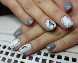 25 Gray Nail Art Designs Ideas