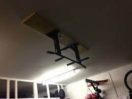 find ceiling joists in garage with plasterboard ceiling for a