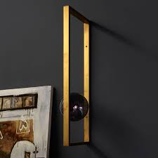 Smoking Lamp Is Lighted by Luxury High End Italian Designer Mondrian Wall Lamp Designer