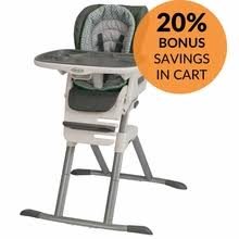 Graco Contempo High Chair Stars by High Chairs
