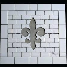 fleur de lis floor tile fleur de lis ceramic tile backsplash