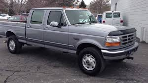 1996 FORD F250 CREW CAB SHORT 4X4 XLT - 7.3 POWERSTROKE TURBO DIESEL ...