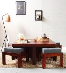 Regina Coffee Table Set In Honey Oak Finish By Woodsworth
