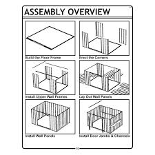Arrow Floor Frame Kit by Arrow Storage Ar1012 10 U0027 X 12 U0027 Arlington Shed