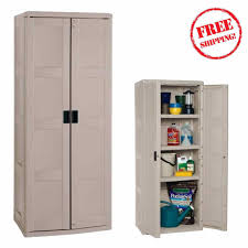 Plastic Storage Cabinets At Walmart by Edsal Garage Plastic Storage Cabinets Quick Assembly Garage