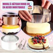 edelstahl 3d runde kuchen formen für diy backformen kuchen formen cupcake form salat dessert sterben mousse ring kuchen decorting werkzeuge