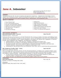 Rn Sample Resume Nurse No Experience A Nursing Examples New Graduates
