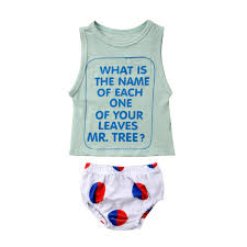 Newborn Baby Boy Girl Outfits Clothes Gypsy Short Sleeve Tops T