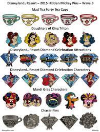 Disney Little Mermaid Bathroom Accessories by Next Wave Of Hidden Mickey Pins Releasing At Disney Parks In
