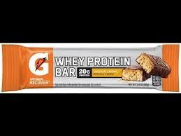 Honest Reviews Gatorade Recover Whey Protein Bar