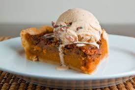 Pumpkin Pie With Pecan Praline Topping by Sweet Potato Pecan Pie On Closet Cooking