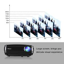 5 8 inch home projector android 6 0 tft lcd irulu