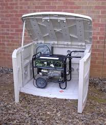soundproofing materials needed for an outdoor generator enclosure