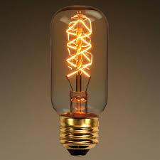 25 watt vintage light bulb 4 13 in length radio style