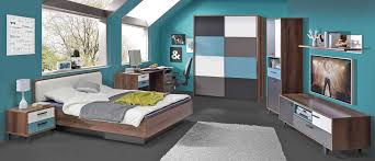 jugendzimmer mit schwebetürenschrank schlammeiche weiß grün grau
