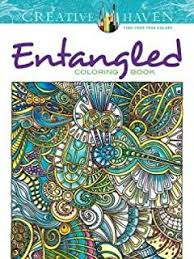 Creative Haven Entangled Coloring Book Adult
