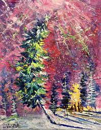 Christmas Tree Permits Durango Colorado by Leoma Lovegrove U0027s Everyday Art Adventure December 2016