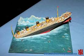 Sinking Ship Simulator The Rms Titanic by Sinking Titanic Paper Model Jpg 800 532 Something For David
