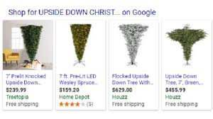 Upside Down Christmas Trees Sell For Upwards Of 1000