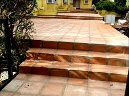 terracotta tiles how to lay terracotta tiles exterior terracotta