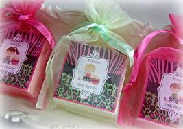 Spa Party Favor Birthday Girl Zebra