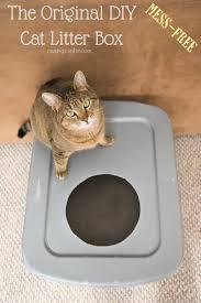 best cat litter boxes the original diy mess free cat litter box living well