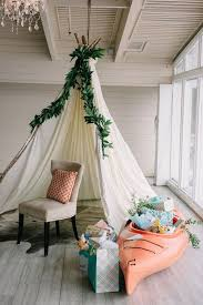 Trending Now Rustic Camping Themed Baby Shower