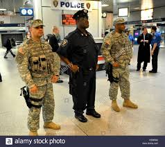 New York Army National Guard Staff Sgt Victor Valerio left and
