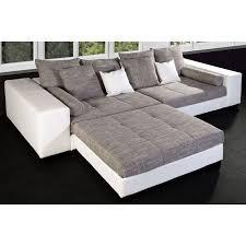 canapé convertible haute qualité canapé angle modulable royal blanc gris achat vente canapé
