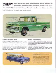 1965 Chevy Options & Accessories Borchure - The 1947 - Present ...