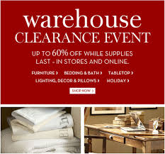 Pottery Barn Furniture & Home Accessories New York line