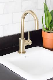 Delta Trinsic Bathroom Faucet Champagne Bronze by Delta Trinsic Bar Prep Faucet Erin Spain