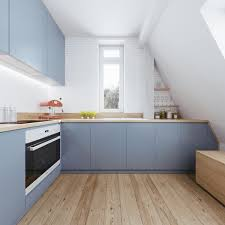 Attic Kitchen Ideas Beautiful Attic Apartment With Clever Design Features