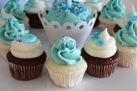 Little Blue Birthday Cakes