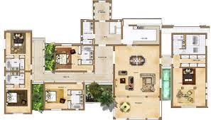 plan villa maroc house plan house