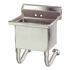 advance tabco utility sink stainless steel 23 in l 11u340 fs wm