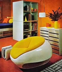 70er jahre room decor dekoration ideen möbel 70er