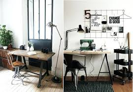bureau loft industriel deco type industriel decoration mobilier industriel bureau