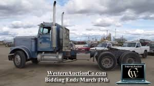 Lot 53 1985 Freightliner Conventional - YouTube 2007 Western Star 4900ex Truck For Sale By Quality Care Peterbilt 379 Warner Industries Heavy Duty Intertional 9900ix Eagle Cventional Capital City Fleet Mack Single Axle Sleepers Trucks For Sale 2435 Listings Page Lot 53 1985 Freightliner Youtube Day Cabs In Florida 575 Kenworth T800w Used On In Texas 2016 389 W 63 Flat Top Sleeper Lonestar